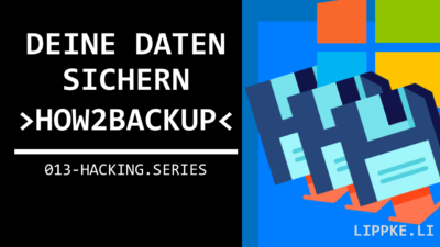Windows 10 Backup - Beginner Tutorial für Personal Backup (2020)