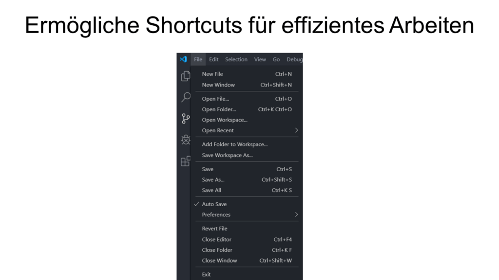 15 Shortcuts