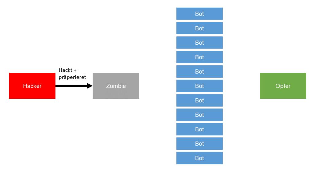 02 Zombie Botnet DDoS Angriff Steffen Lippke