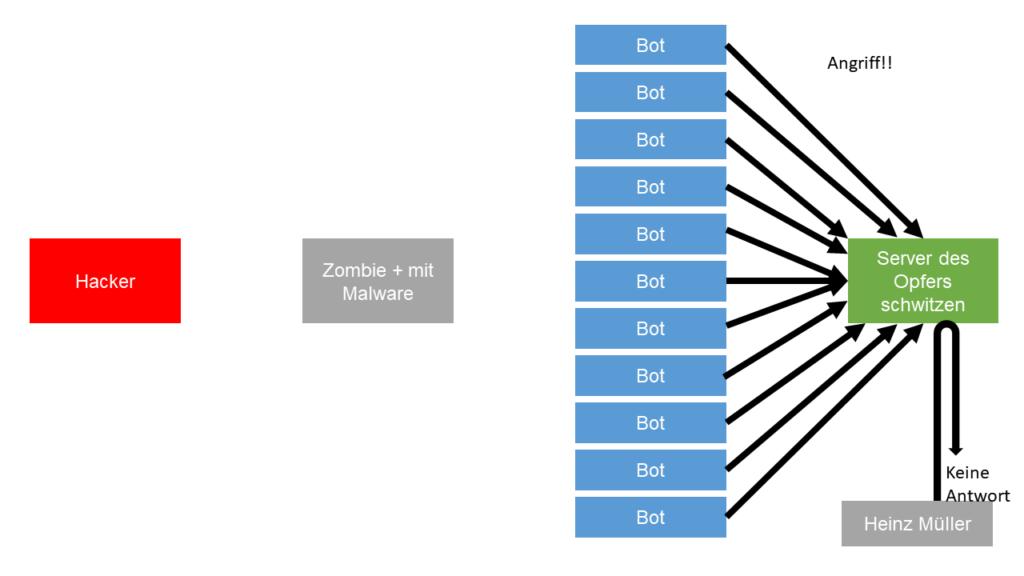 07 Problem Unternehmen Botnet DDoS Angriff Steffen Lippke