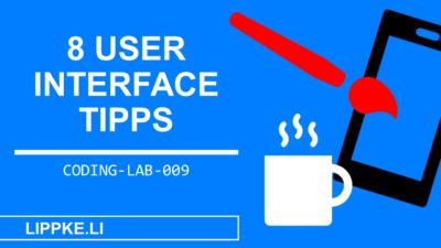 GUI Design: 8 Design Geheimnisse für User Interfaces (2020)