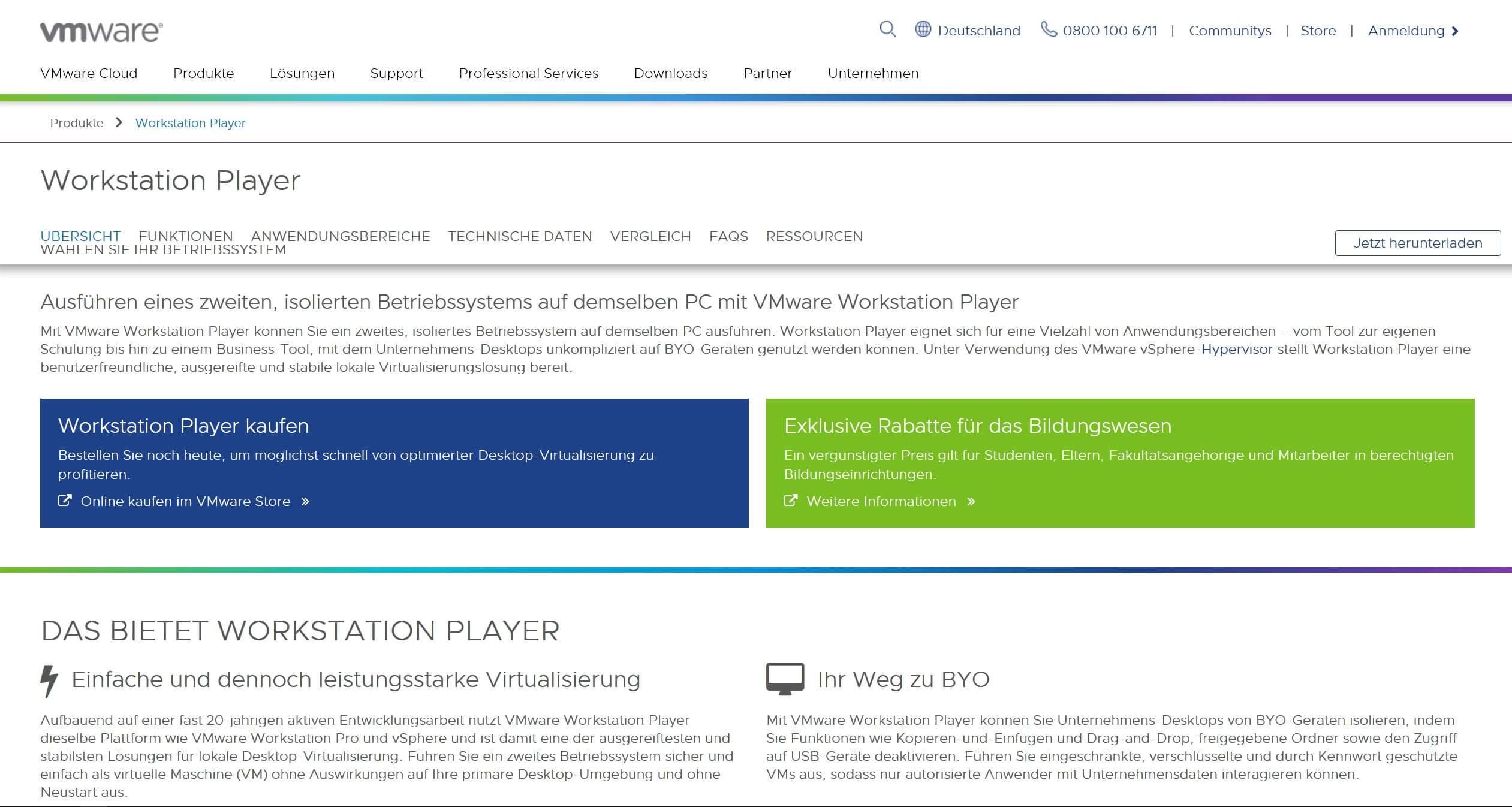 00 VMware Homepage - Virtuelle Maschine erstellen Coding Steffen Lippke