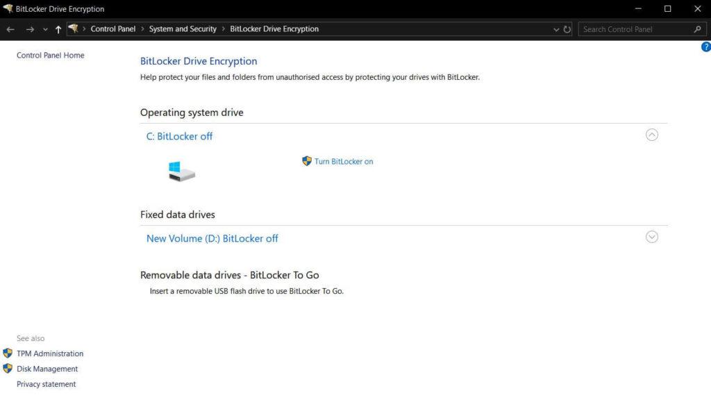 00 Bitlocker Start - Festplatte verschlüsseln Windows 10 Steffen Lippke Hacking
