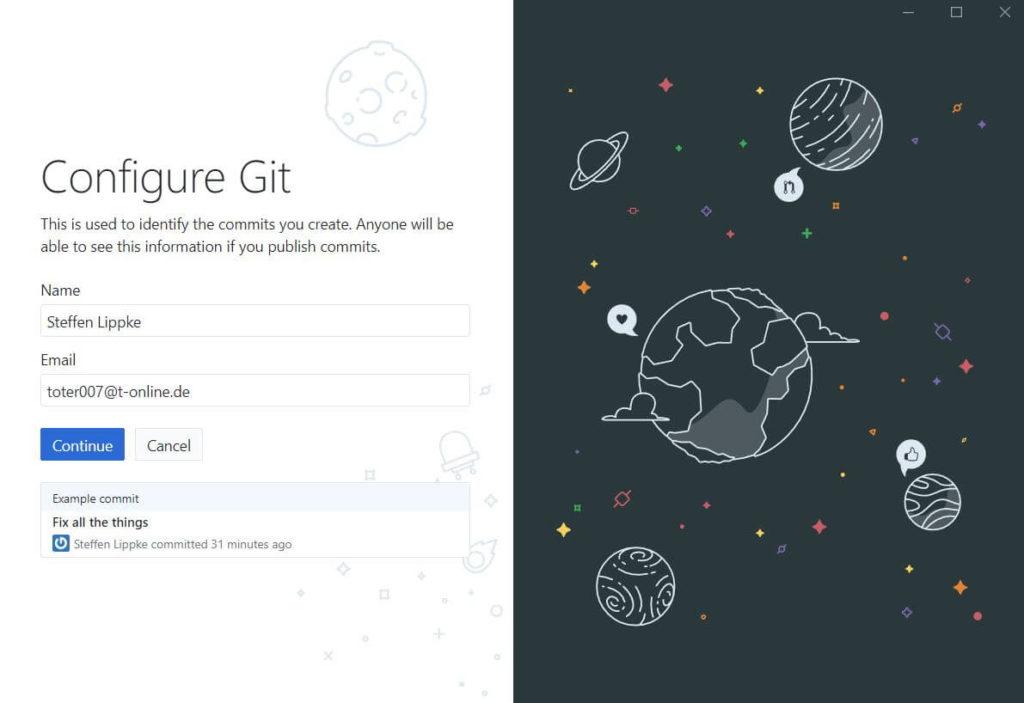 01a Congigure Github Desktop - Full Guide Git Tutorial Steffen Lippke