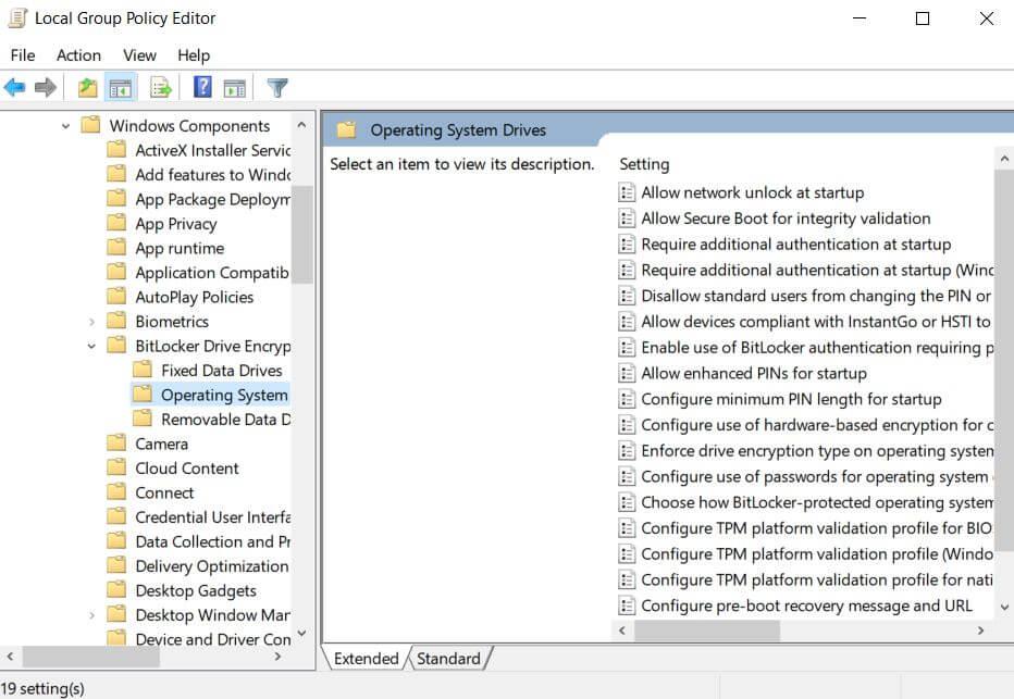 03 Bitlocker in Gruppenrichtlinien- Festplatte verschlüsseln Windows 10 Steffen Lippke Hacking