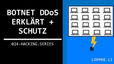 Botnet DDoS - Definition + Schutz + Mieten | Cyberkrieg erklärt