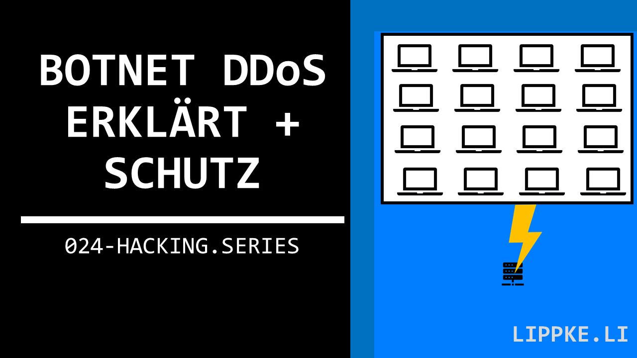 Botnet DDoS Hacking Guide Tutorial Steffen Lippke