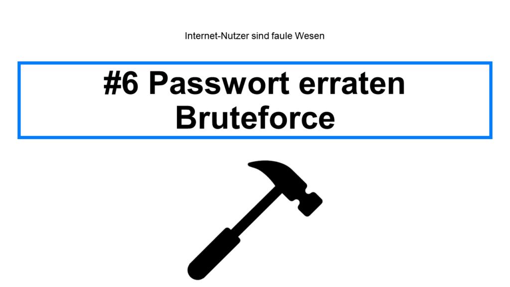 Bruteforce - Handy hacken Steffen Lippke