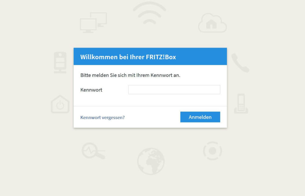 01 Fritzbox Anmeldescreen- GUIDE Wlan hacken Steffen Lippke Hacking Tutorail