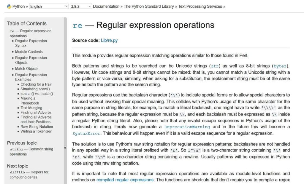 02 Bib re - Python Regex Tutorial Steffen Lippke