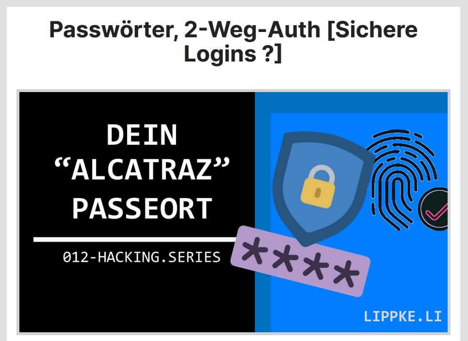 04 Sichere Passwörter - Instagram hacken GUIDE Steffen Lippke