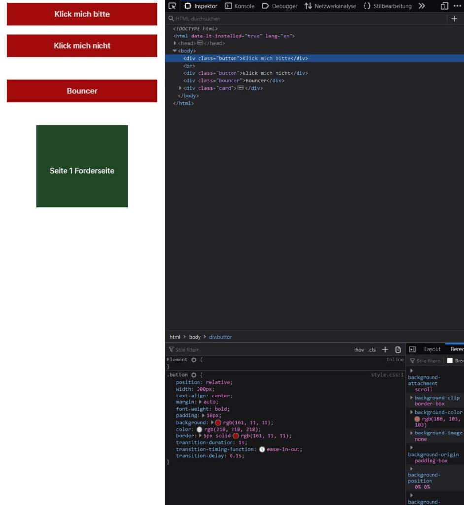 Developer Tools helfen - CSS Tutorial Steffen Lippke Coding Lab