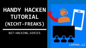 Handy hacken Steffen Lippke Hacking Tutorials Series Ethical Hacking