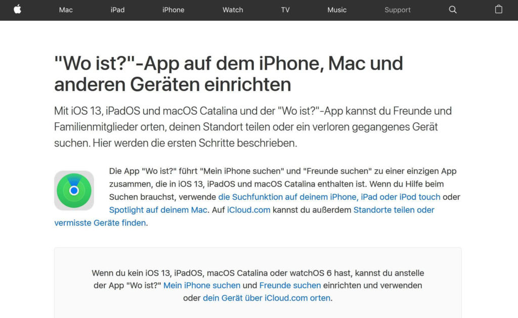 Apple Wo ist Feature -  Hacking Series Steffen Lippke