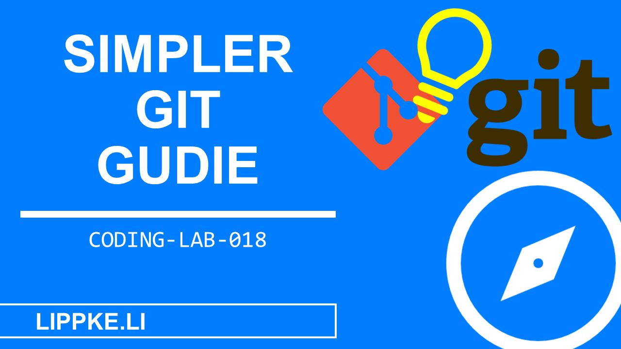 Git Beginner Steffen Lippke Coding Tutorial Coding Lab