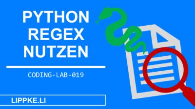 Python Regex Tutorial > findAll, match, search + split erklärt