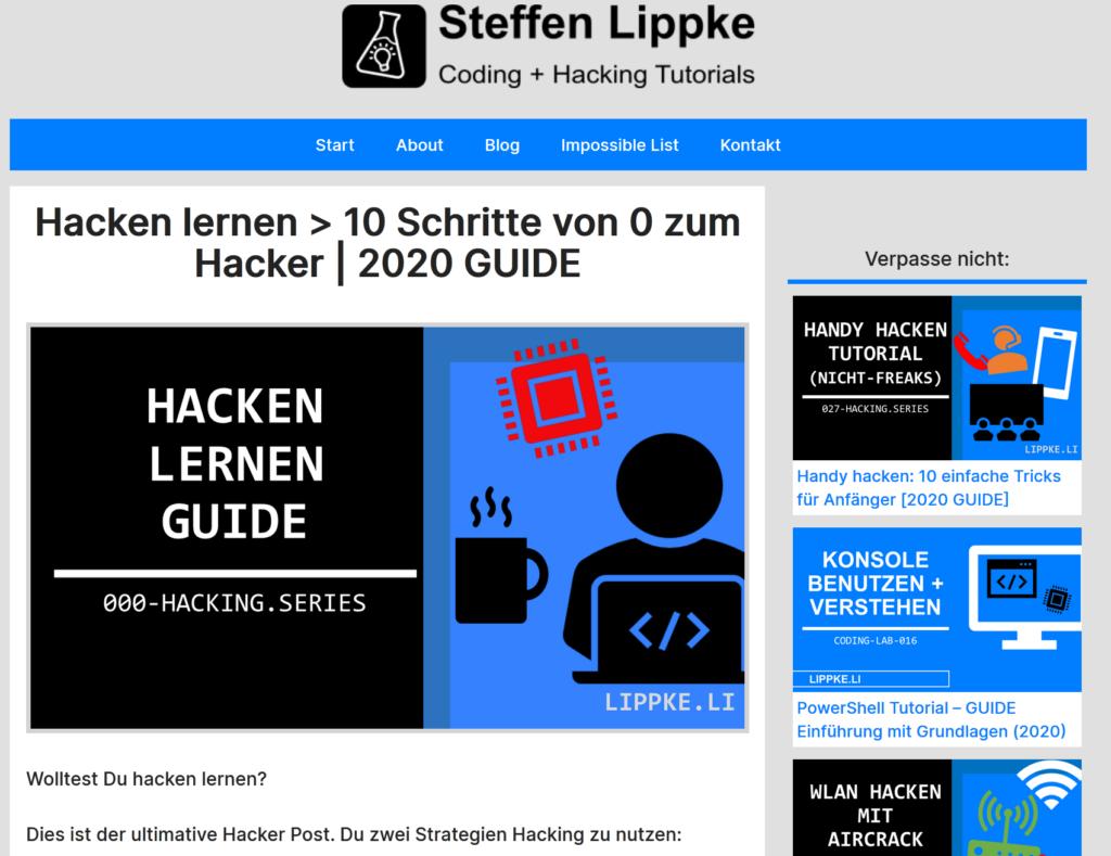 03 VPN und Hacker- Was ist VPN einfach erkärt Hacking Series by Steffen Lippke