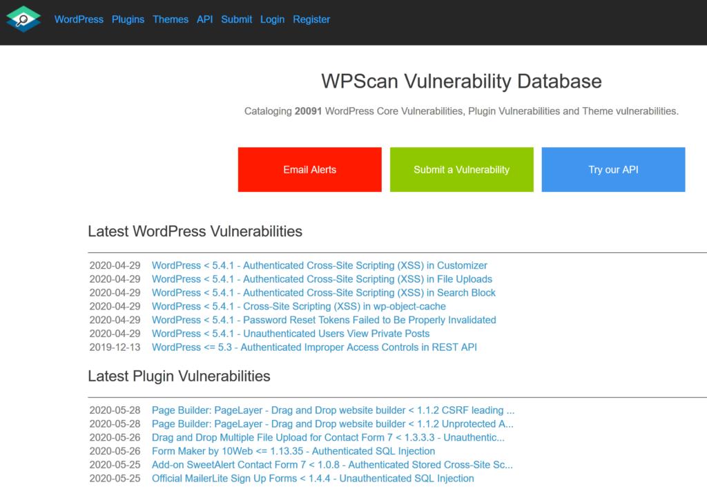03 WordPress Vulnerabilities ansehen - Hacking Series für mehr WordPress Security Steffen Lippke