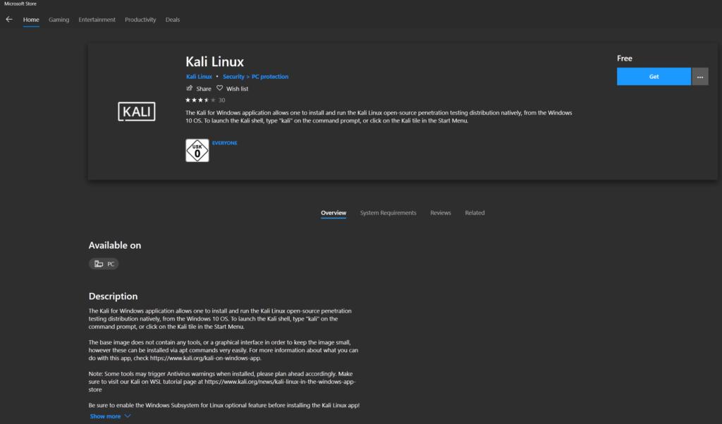 05 Kali Linux als Subsystem - Was ist Definition Steffen Lippke - Series