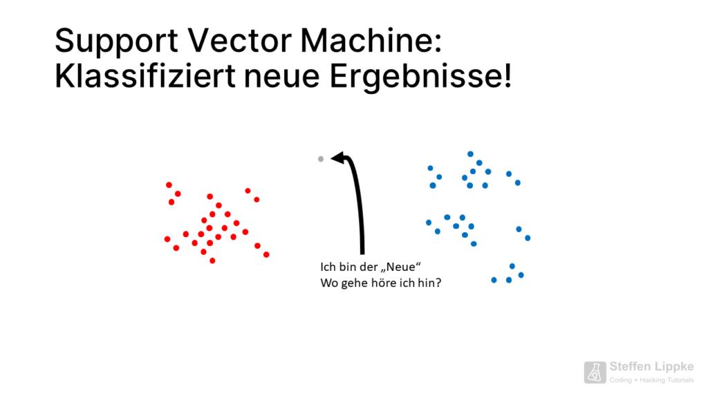 00 Der Neue - Was ist eine Support Vector Machine Tutorial Steffen Lippke Coding Lab