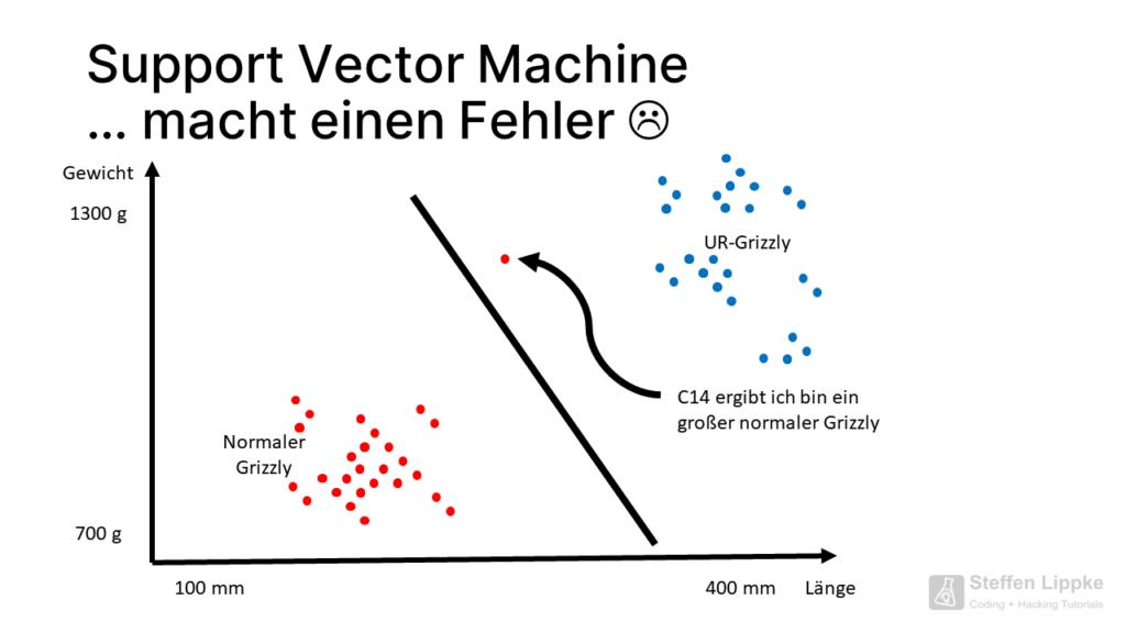 05 Achtung Fehler - Was ist eine Support Vector Machine Tutorial Steffen Lippke Coding Lab