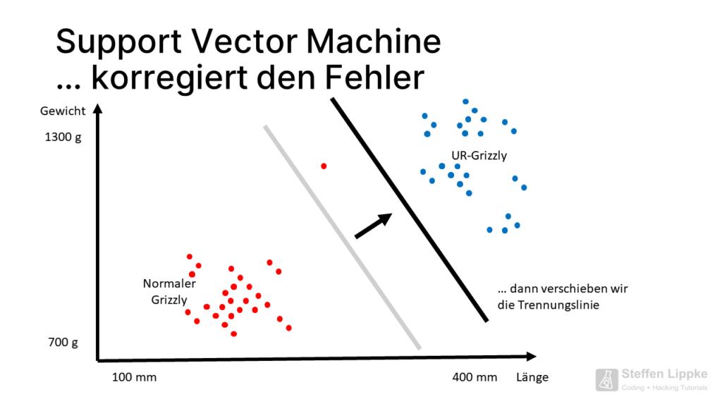 06 Verschieben so gehts - Was ist eine Support Vector Machine Tutorial Steffen Lippke Coding Lab