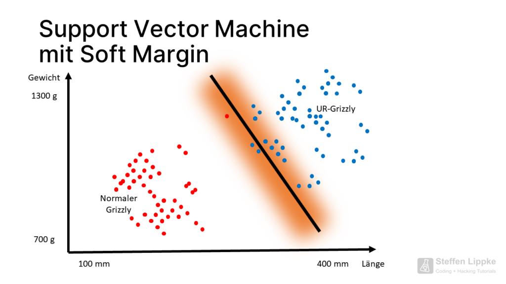 09 Soft Margin - Was ist eine SVM Tutorial Steffen Lippke Coding Lab