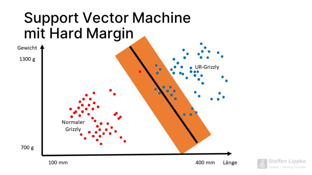 10 Hard Margin - Was ist eine SVM Tutorial Steffen Lippke Coding Lab