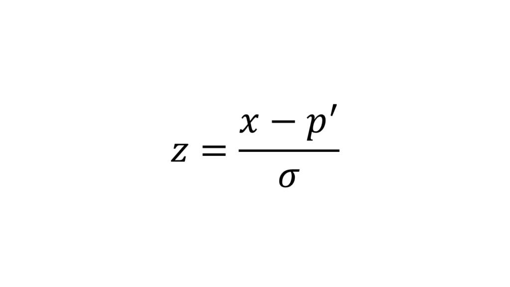 Standardiserungs Formel - Princial Component Analysis Hautpkomponentenanalyse Steffen Lippke einfach erklärt