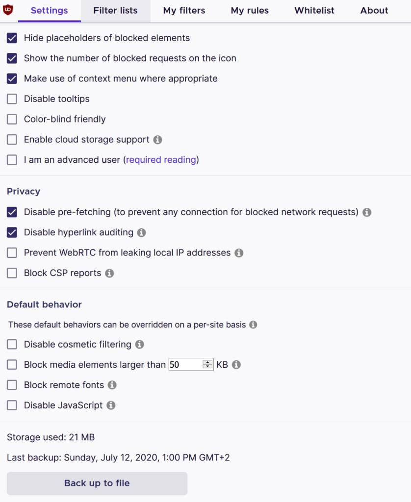 00 Optimale Einstellungen - uBlock Origin GUIDE Anfänger Beginner Steffen Lippke Hacking Series