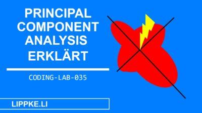 Principal Component Analysis | Erklärung mit Python Beispiel