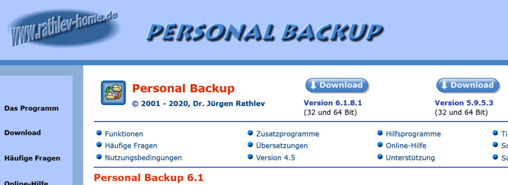 06 Schnelle Backups mit Personal Backup - Was ist Malware Steffen Lippke Hacking Series