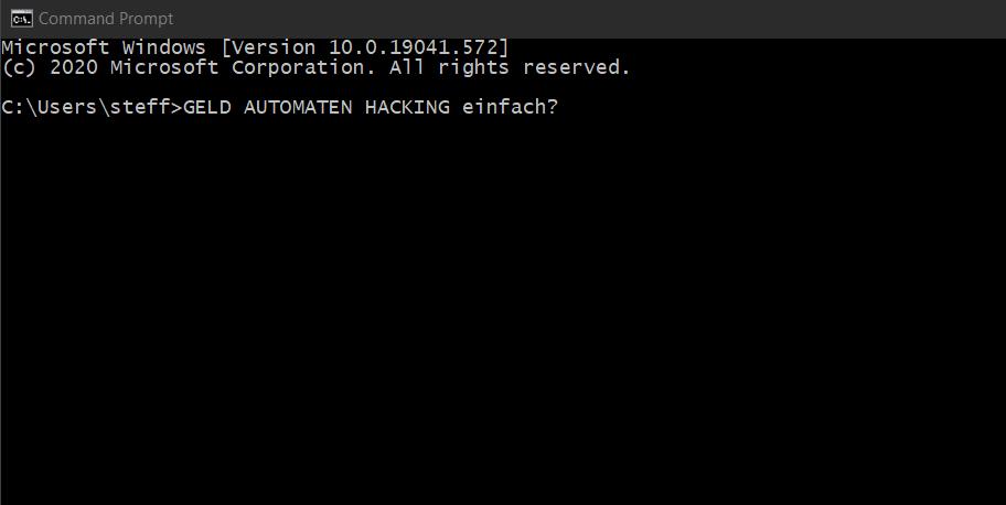 00 Geldautomaten Hacking - Geldautomaten hacken Hacking Series Steffen Lippke