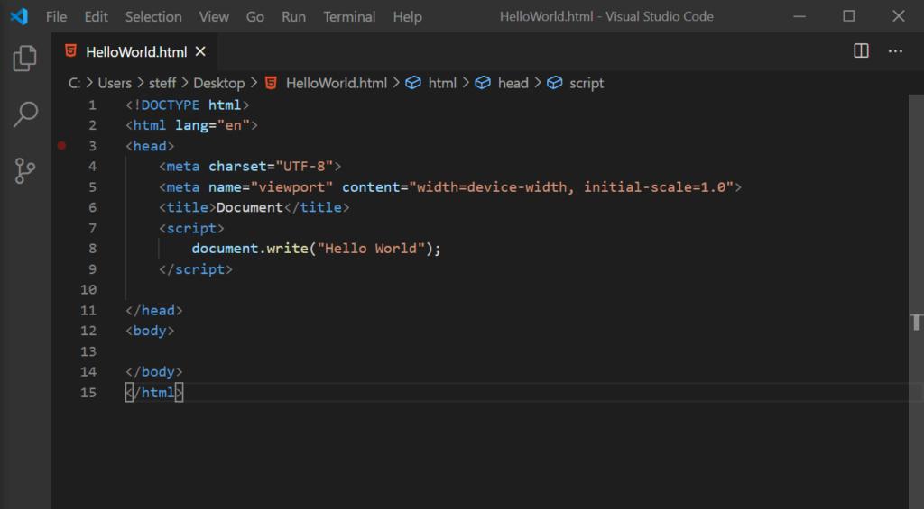 00 JavaScript Hello World - Programmieren lernen Steffen Lippke Coding Lab