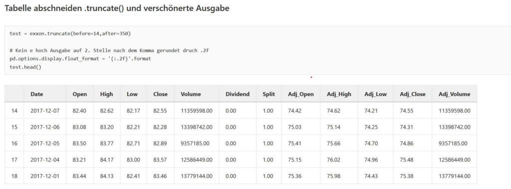05 Daten in Tabellenform - Big Data einfach erklärt Steffen Lippke Coding Lab