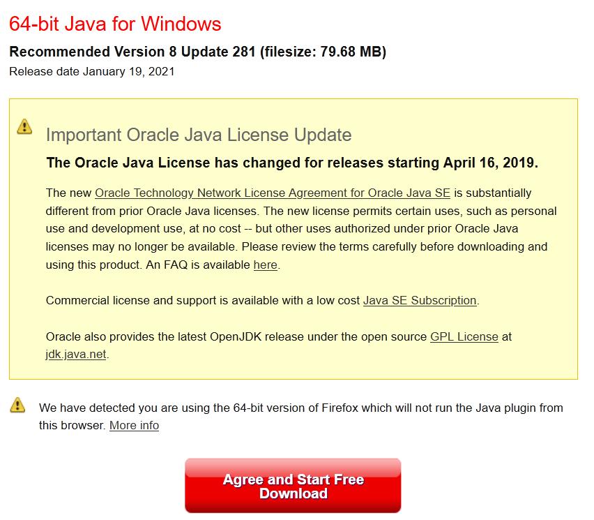 01 Java Download - FocusOS richtig installieren Java
